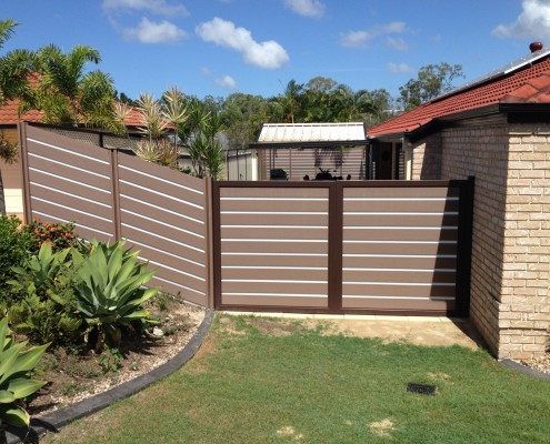 Composite Wood Sliding Gate