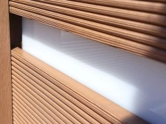 White translucent Acrylic Strips for your fences or other projects