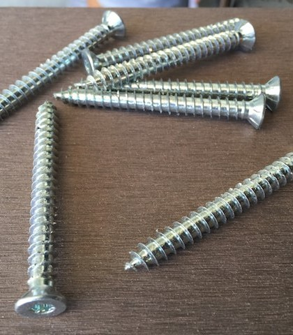 72mm Galvanised Joist Concrete Screws